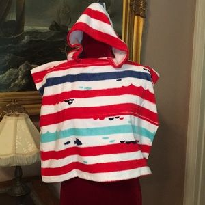 Other - Striped Baby Hooded Towel